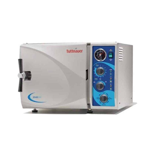 Tuttnauer 2340MK Semi-Auto Sterilizer 19L Fast Cycle Without Printer