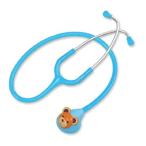 Spirit CK-F606PF Fun Animal Pediatric Stethoscope - Light Blue